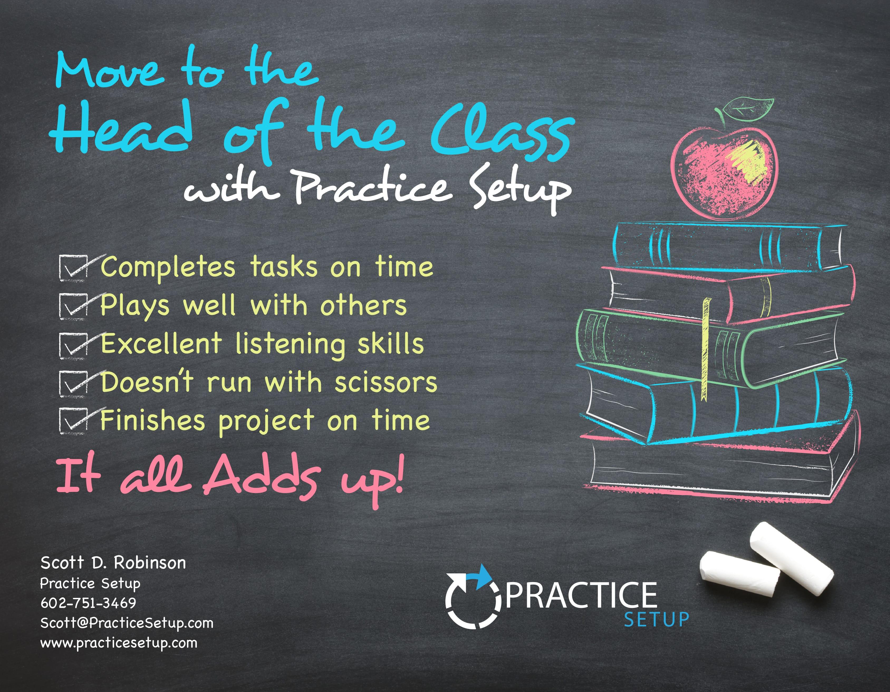 Scott Robinson - Practice Setup LLC